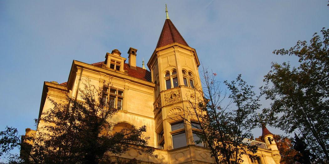 Beispiel: Außenansicht, Foto: Schloss Sihlberg.