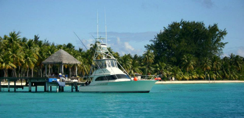 Beispiel: Yacht, Foto: Polynesia-Tours.