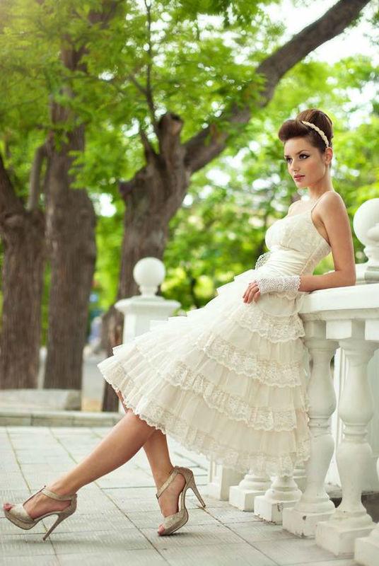 Beispiel: Braut im Park, Foto: Fotolia.com.
