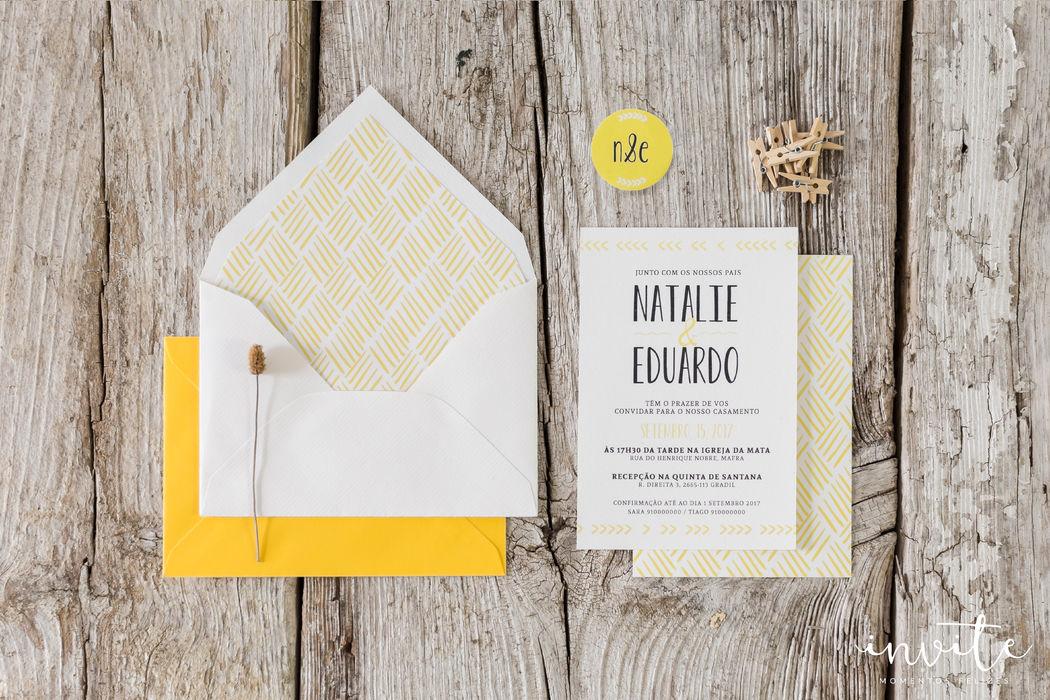 Convite Yellow