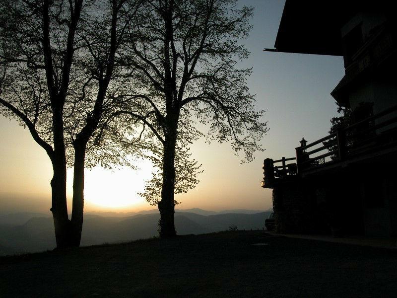 Beispiel: Abendliche Stimmung, Foto: Gipfelhaus Magdalensberg.