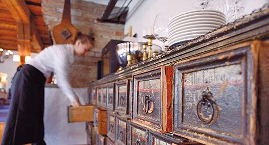 Beispiel: Küchenimpression, Foto: Alte Rheinmühle.
