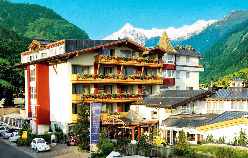 Beispiel: Außenansicht, Foto: Verwöhnhotel Vötters Sportkristall.