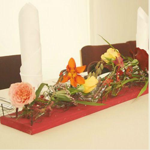 Beispiel: Tischdekoration, Foto: Monique Lebahn.