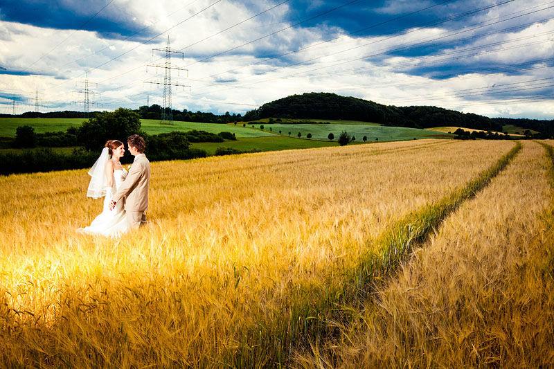 Beispiel: Wunderschöne Hochzeitsfotos, Foto: Steffen Löffler und Thomas Weber Fotografie.