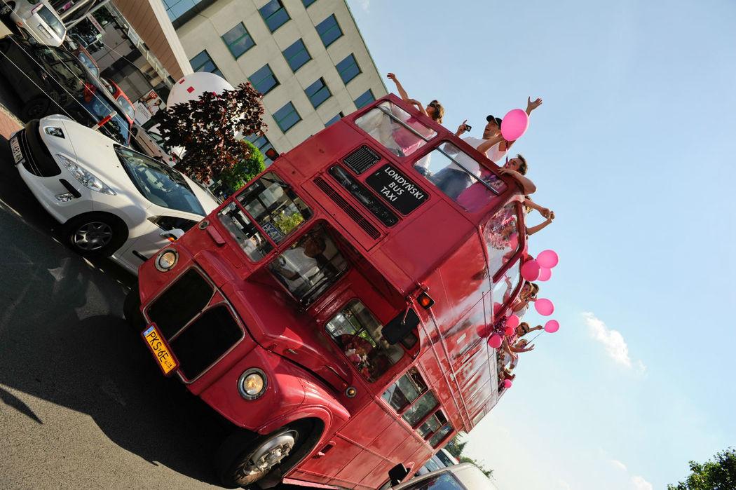 Londyński autobus,  Double-Decker na ślub