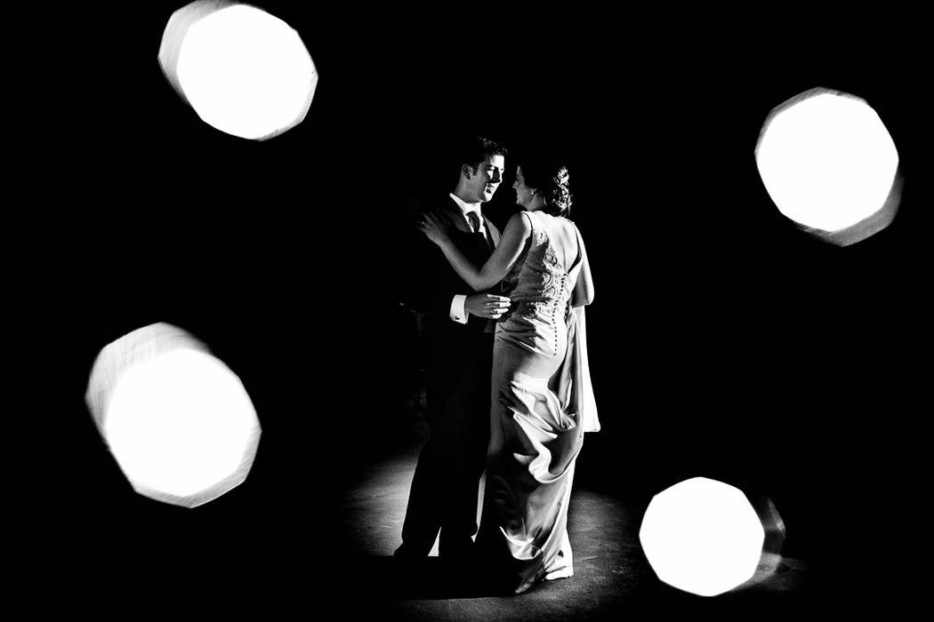 Primer baile en una boda en Jaén.
