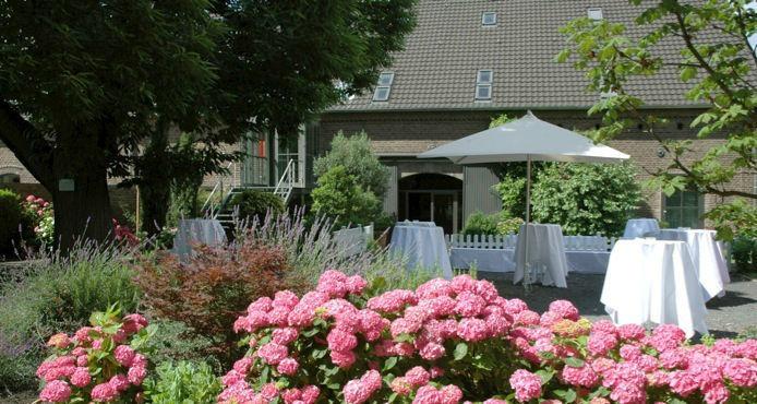 Beispiel: Gartenbereich, Foto: Kastanienhof.