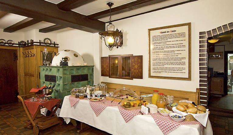Beispiel: Innenraum, Foto: Gasthaus zum Ochsen.