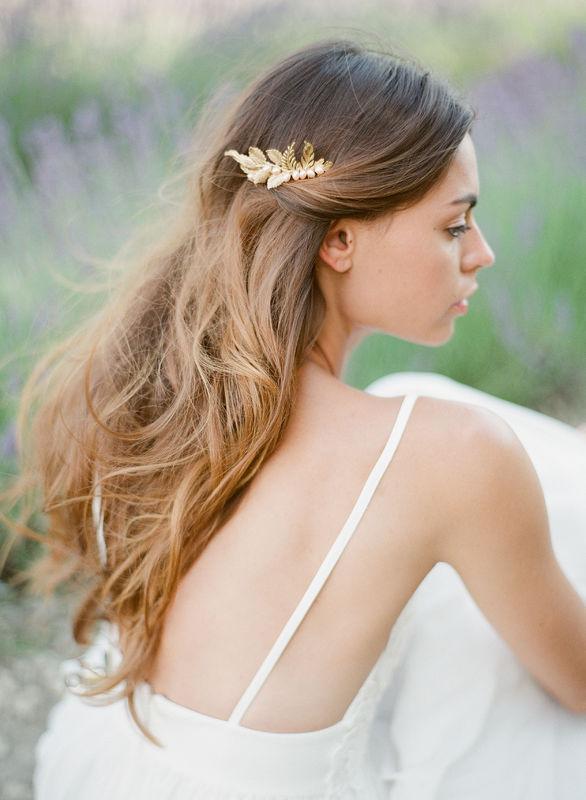 Peigne de mariée Islande