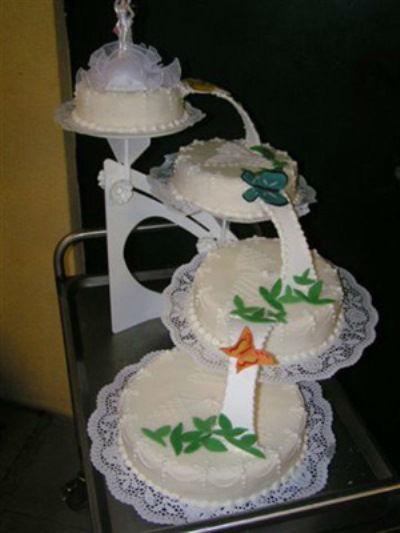 Beispiel: Edle Präsentation der Torten, Foto: Tortenkunst.