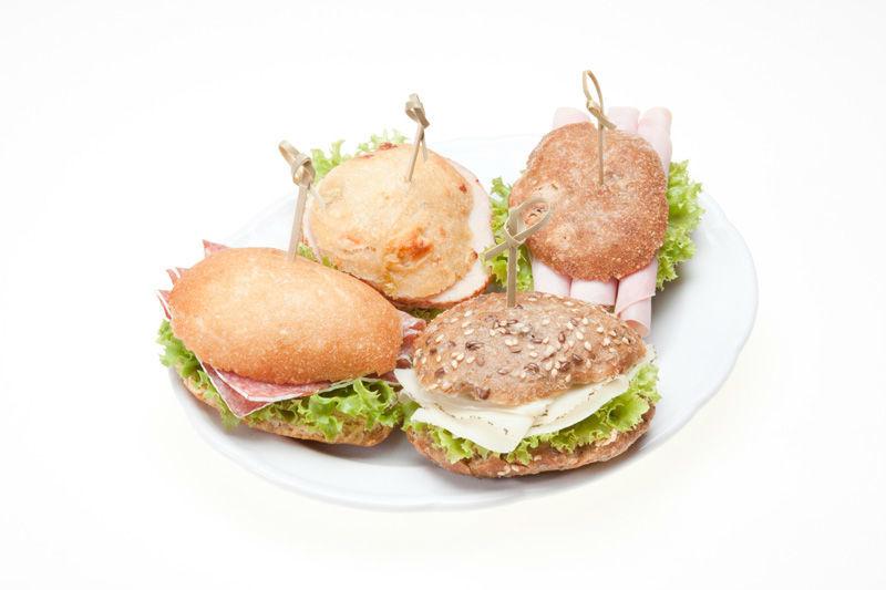 Beispiel: Sandwiche, Foto: Lunchbox Catering & Event.