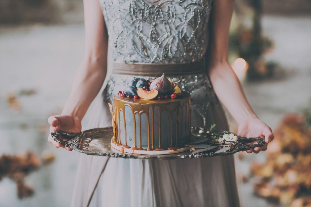 Мой торт в руках балерины