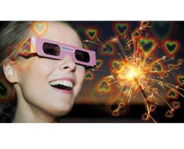 Beispiel: Brille mit Effekt, Foto: Kreativ-Ideen.ch