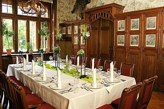 Beispiel: Jagdzimmer, Foto: Schloss Garvensburg.
