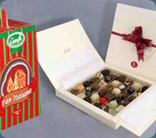 Caja para truffas/ diseño especial