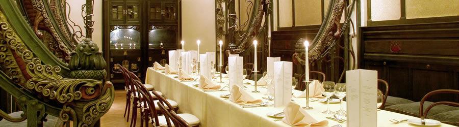 Beispiel: Traubensaal, Foto: Kupferbergterrasse.