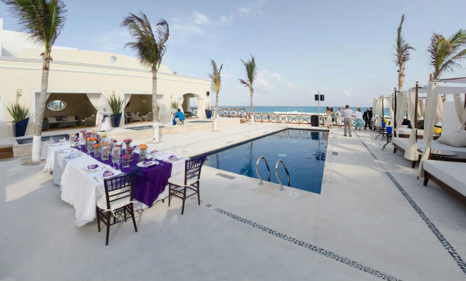 beach club en Cancun