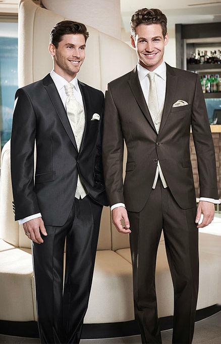 Beispiel: Elegante Anzüge, Foto: Hochzeitssalon Jereb.