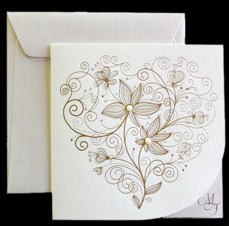 Beispiel: Kreative Einladungskarten für Ihre Hochzeit, Foto: Druckerei Leue.