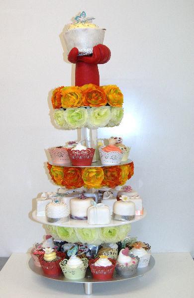 Beispiel: Cupcakes Variationen, Foto: Hanauer Schoko & Torten Bio.