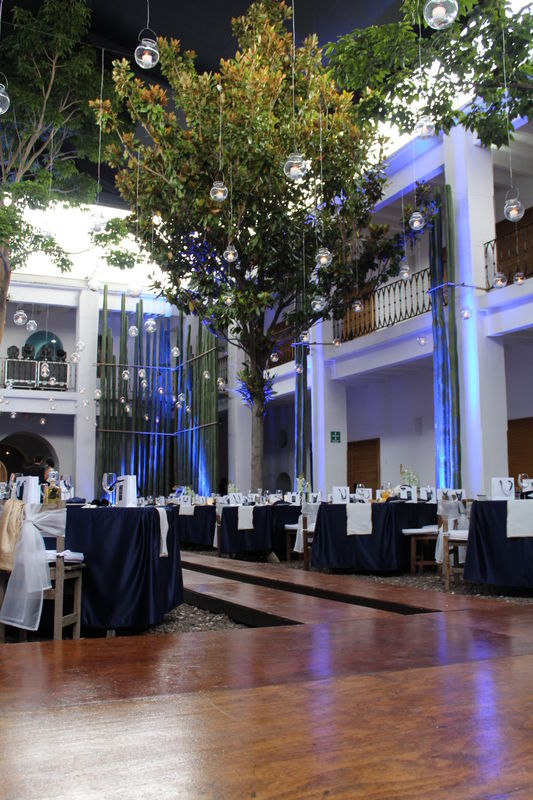 Hotel Azul + Galería, Oaxaca.