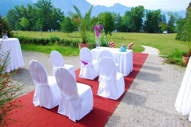 Beispiel: Außenbereich, Foto: Villa Toscana.