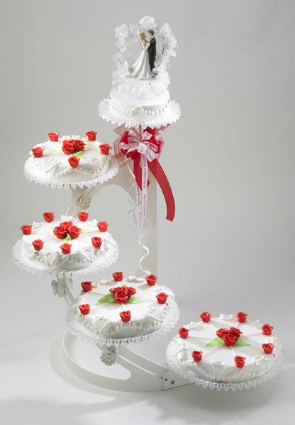 Beispiel: Hochzeitstorte: Ambience, Foto: Mandelbärli.