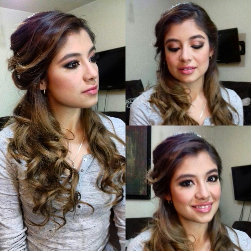 Peinado Romántico y maquillaje Beauty