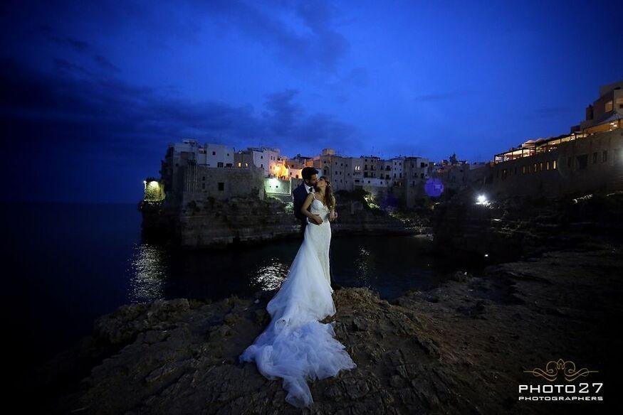 Matrimonio in Puglia, Polignano a Mare