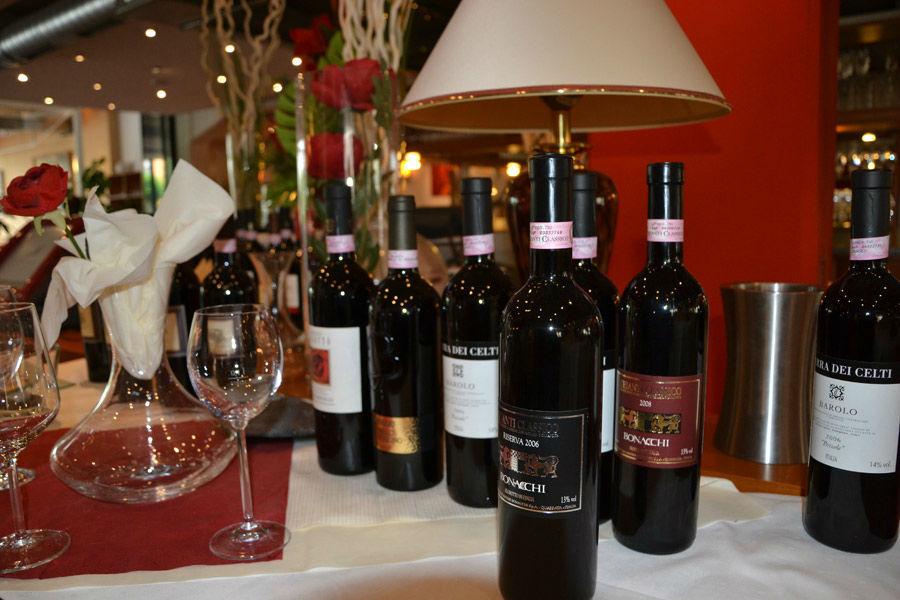 Beispiel: Italienischer Wein, Foto: Ristorante Borsalino.