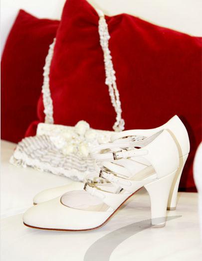 Beispiel: Handgefertigte Schuhe für Ihre Hochzeit, Foto: Schuh Hiegl.