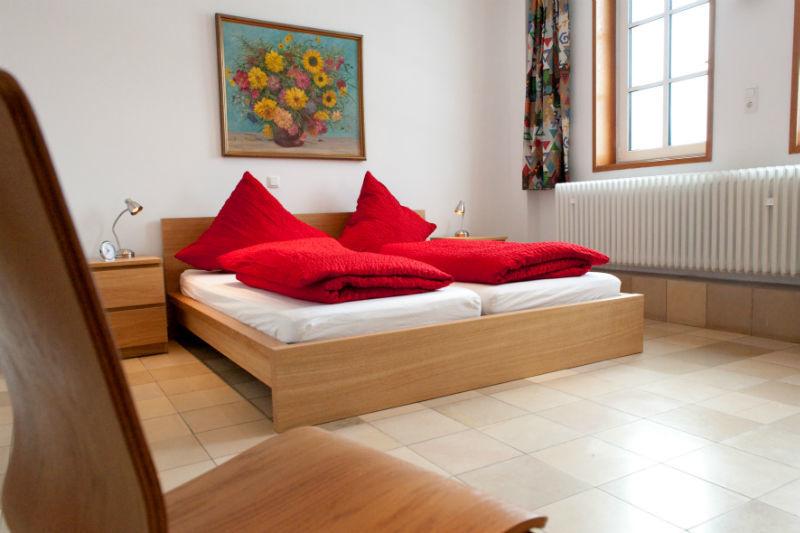 Beispiel: Zimmer, Foto: Weingut Altenkirch.