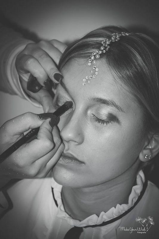 Desfile de moda de noivas - preparação