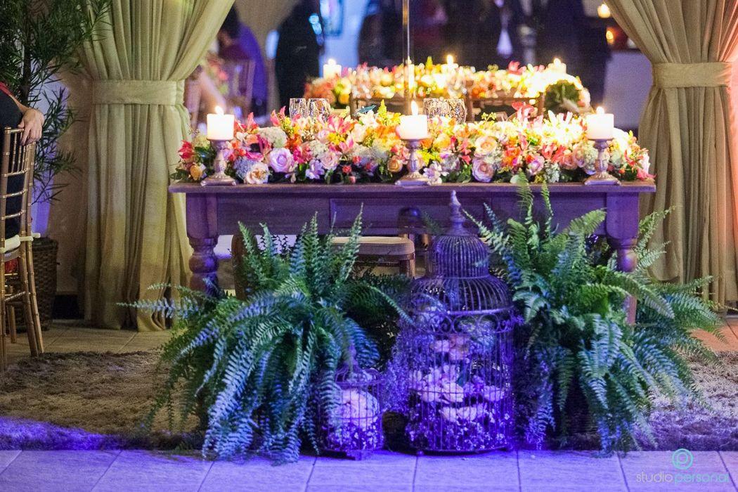Decoração Arte em flor® - Mansão Belloni