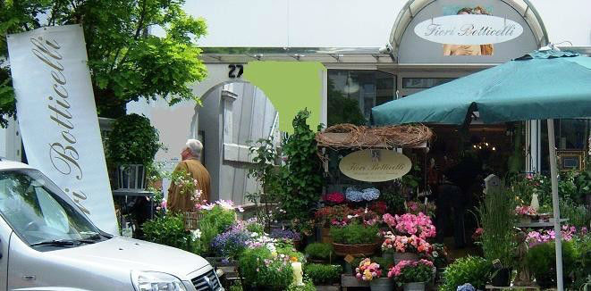 Beispiel: Ladengeschäft, Foto: Fiori Botticelli.