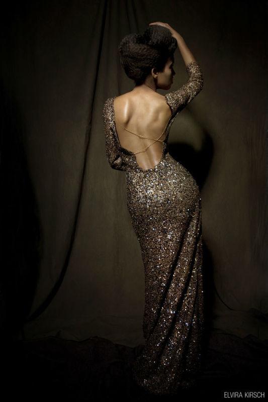 Beispiel: Kleider mit Stil, Foto: Elvira Kirsch.