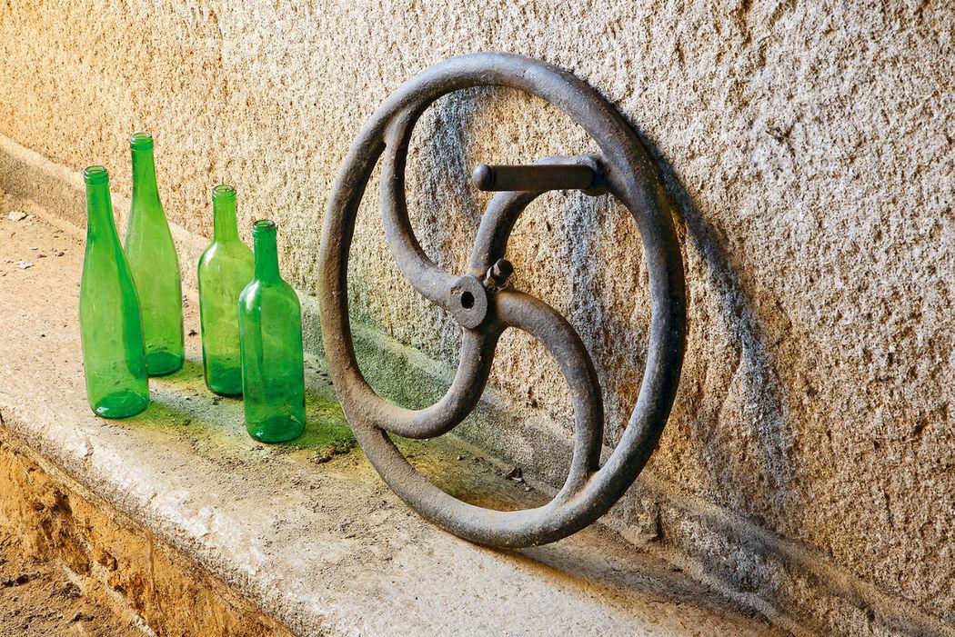 Reminiscencias de la ancestral industria vinícola del Pazo de Ximonde
