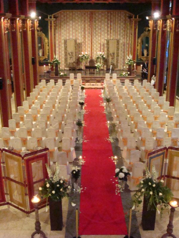 Salón Verbo Divino, Ceremonia Civil interior. Hotel Convento I