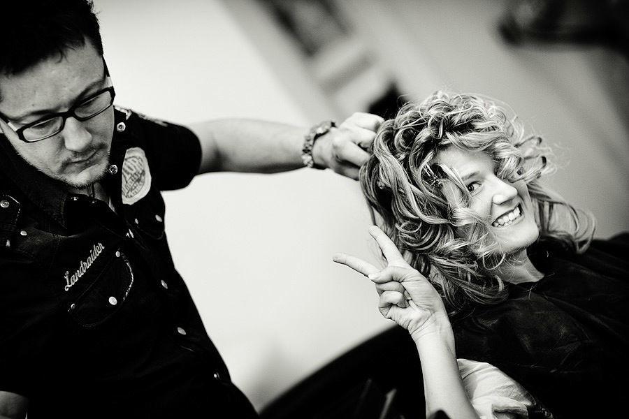 Beispiel: Fotos von den Vorbereitungen, Foto: Ingo Cordes.