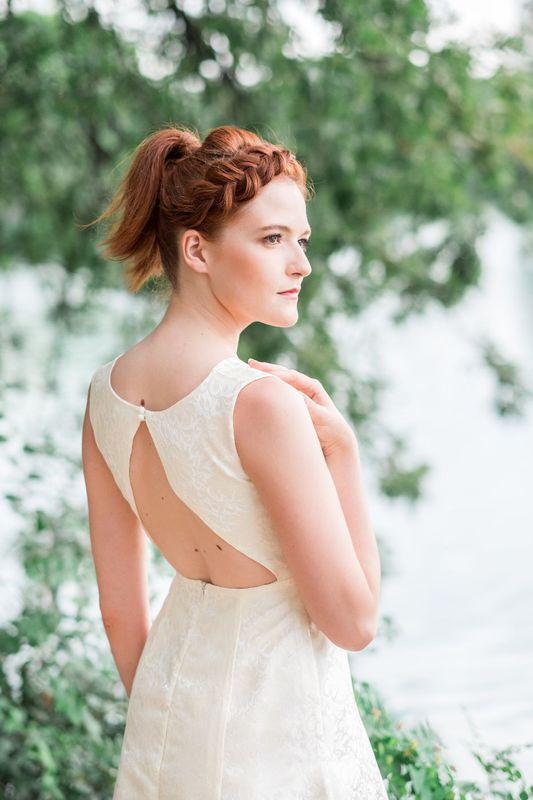 Kaa Couture modèle robe de mariée courte TIFFANIE