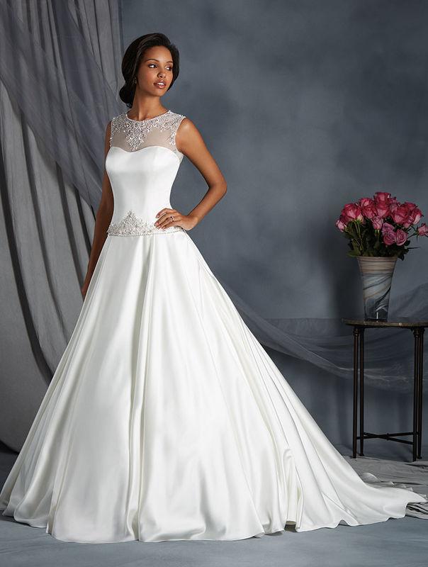Beispiel: Brautkleid Alfred Angelo