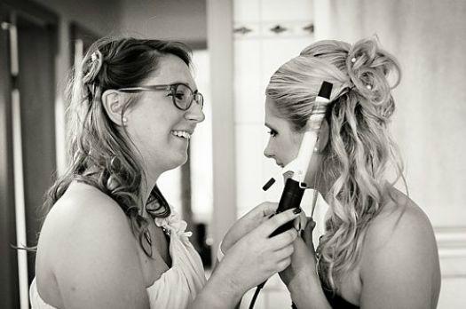 Beispiel: Portrait der Braut, Foto: Marta Urbanelis Photography.