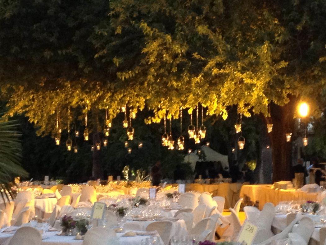 Cena en los jardines del Recreo de las Cadenas