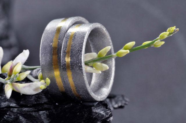 Beispiel: Partnerringe, Foto: Elfenmetall.