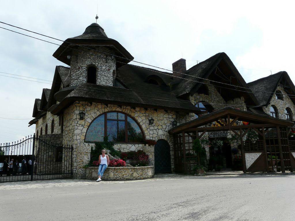 Karczma u Stacha, wejście