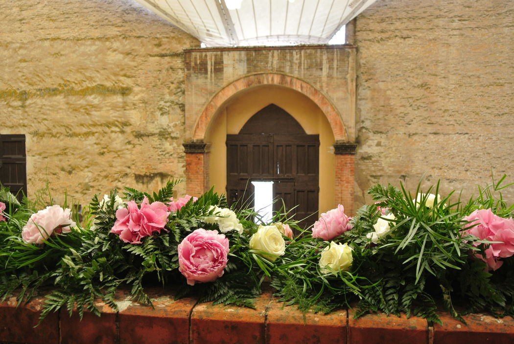 Shabby chic wedding - Allestimenti floreali location