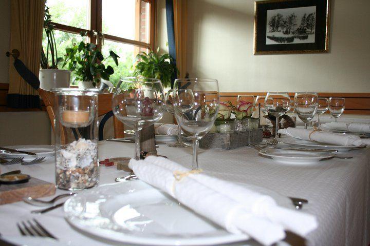 Beispiel: Hochzeitstafel, Foto: Geuenicher Hof.
