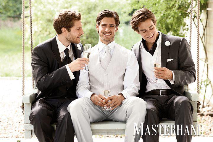 Beispiel: Hochzeitsanzüge, Foto: ELNOVIO - The Mens Gala.
