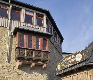 Beispiel: Restaurant mit Biergarten, Foto: Schlossterrasse.